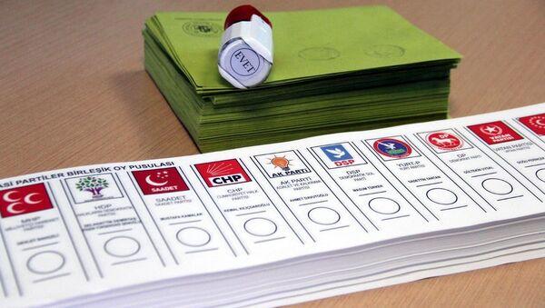 Genel Seçimler - Sputnik Türkiye