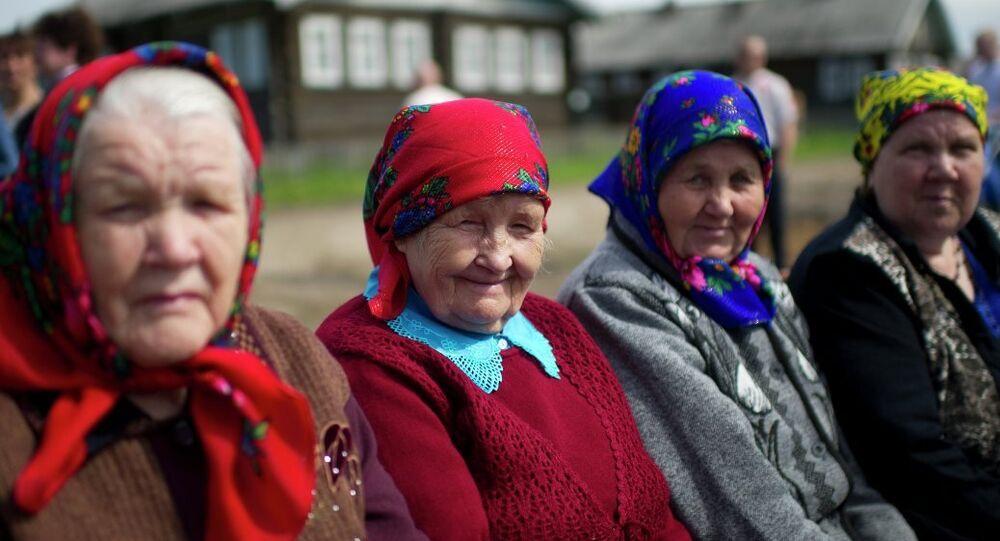 Rusya: Yaşlı kadınlar