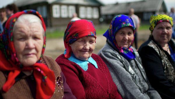 Rusya: Yaşlı kadınlar - Sputnik Türkiye