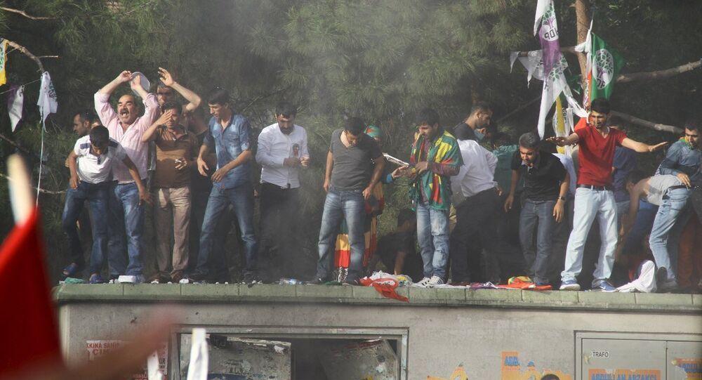 HDP Diyarbakır mitingi patlama