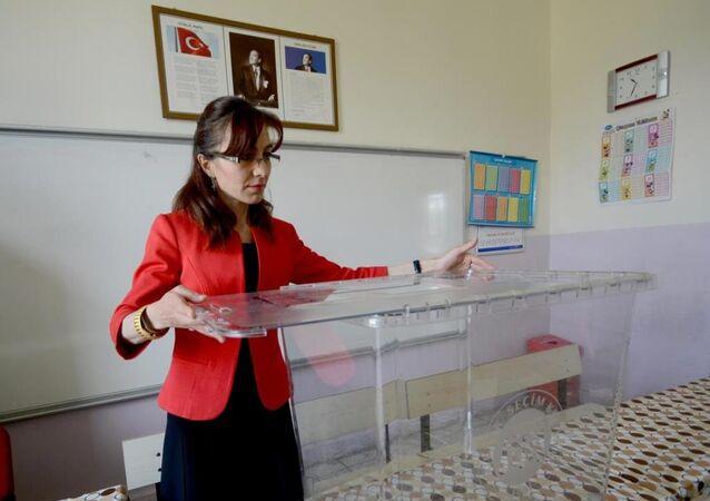 Türkiye genel seçim sandık