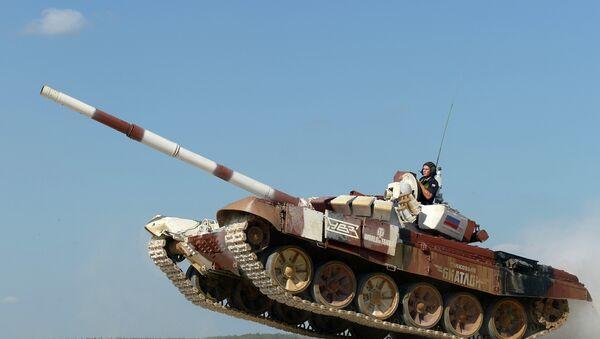 2014 Dünya Tank Biatlon Şampiyonası - Sputnik Türkiye
