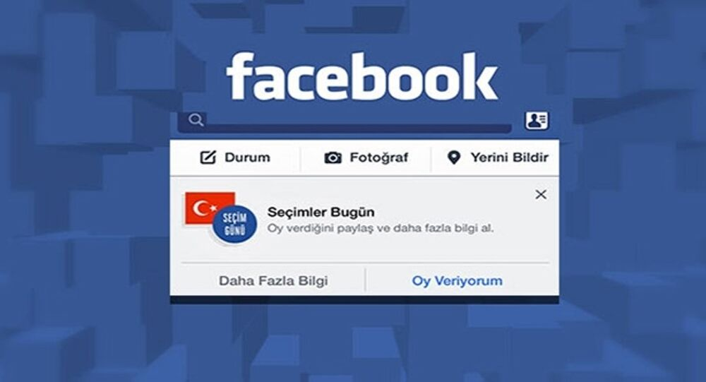 Facebook'un 'Oy veriyorum' butonu
