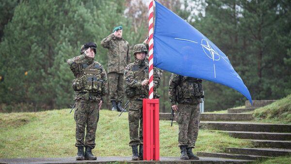 NATO bayrağı - Polonya - Sputnik Türkiye