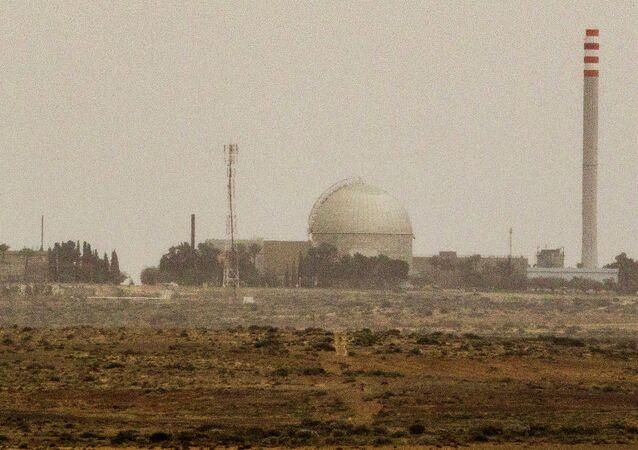 İsrail - Negev Çölü'ndeki Dimona Nükleer Santrali