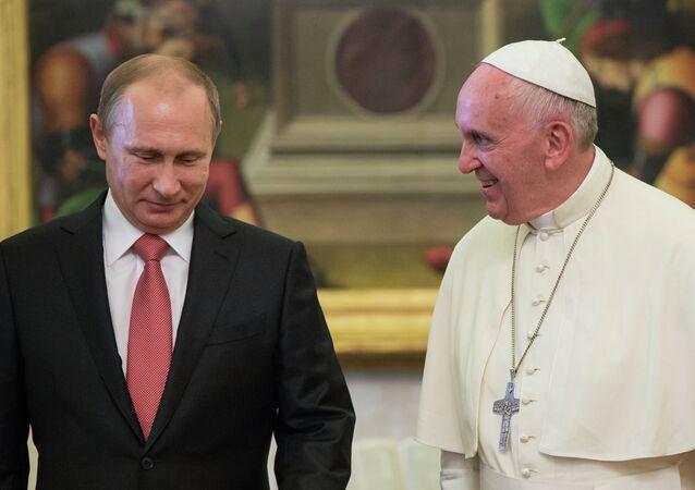 Vladimir Putin - Papa Franciscus