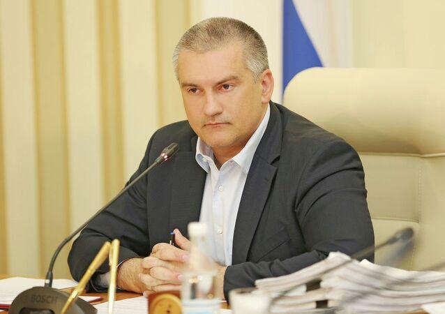 Kırım Cumhurbaşkanı Sergey Aksenov