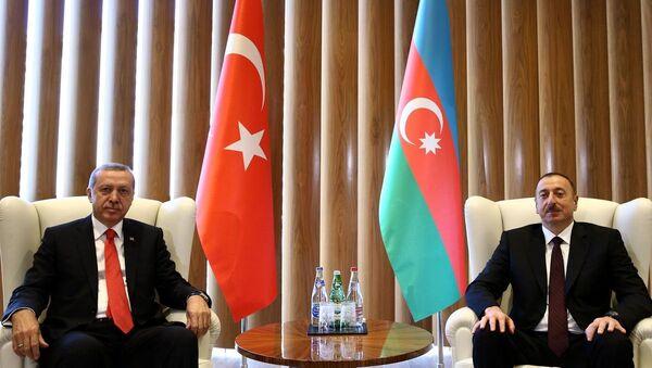 Recep Tayyip Erdoğan & İlham Aliyev - Sputnik Türkiye