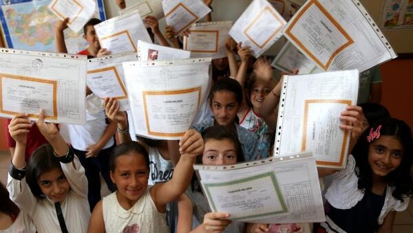 Okul tatili, karne - Sputnik Türkiye