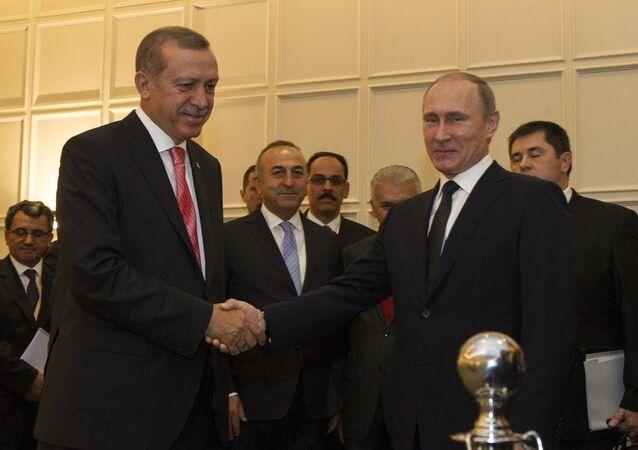 Recep Tayyip Erdoğan-Vladimir Putin