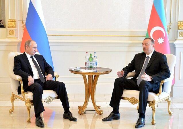 Vladimir Putin-İlham Aliyev