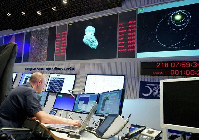 Rosetta uzay aracı