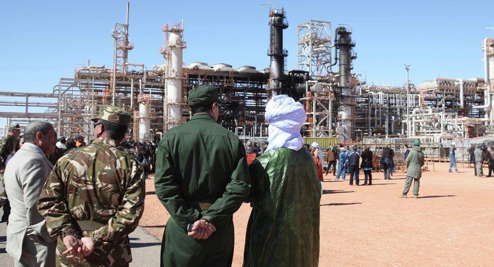 Cezayir'de Ocak 2003'teki saldırıda 38 kişinin hayatını kaybettiği doğalgaz tesisi