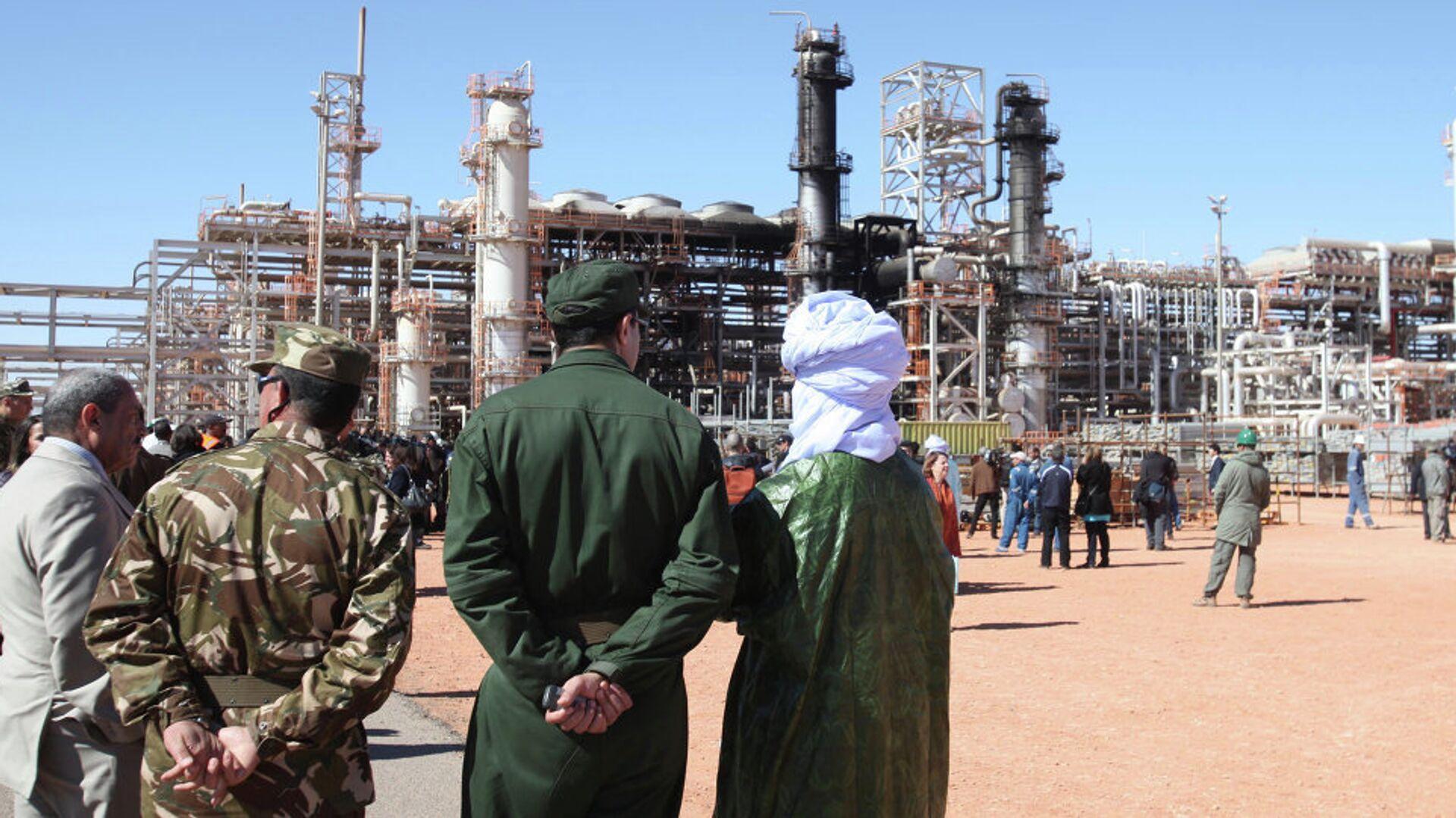 Cezayir'de Ocak 2003'teki saldırıda 38 kişinin hayatını kaybettiği doğalgaz tesisi - Sputnik Türkiye, 1920, 27.08.2021