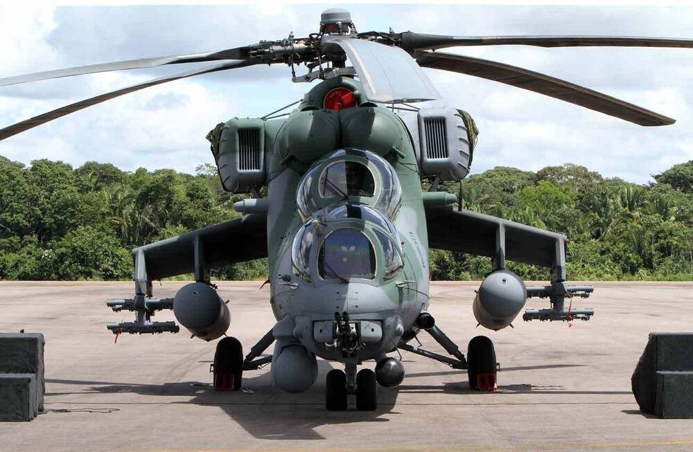 Mi-35M helikopteri