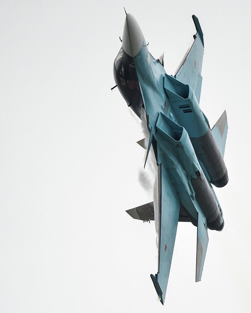 Su-34 avcı uçağı