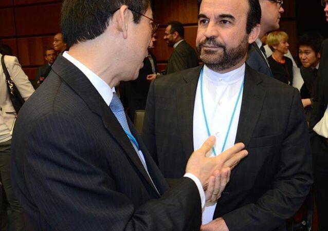 İran'ın Uluslararası Atom Enerjisi Ajansı'ndaki (UAEA) Büyükelçisi Rıza Necefi
