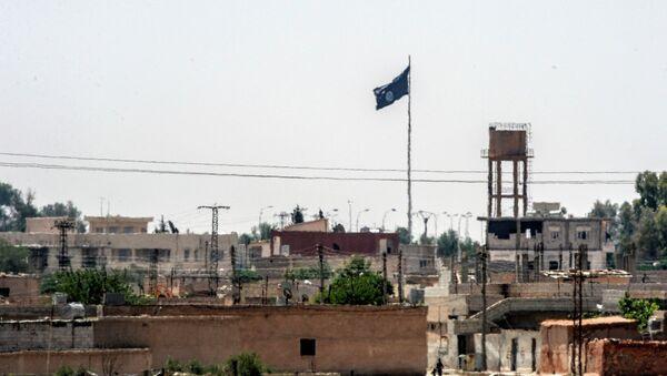 Suriye'nin Rakka vilayetine bağlı Tel Abyad - Sputnik Türkiye