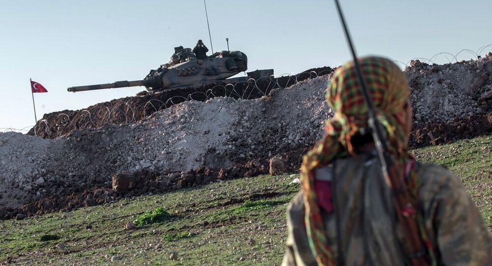 Suriye sınırında yaşanan gelişmeler