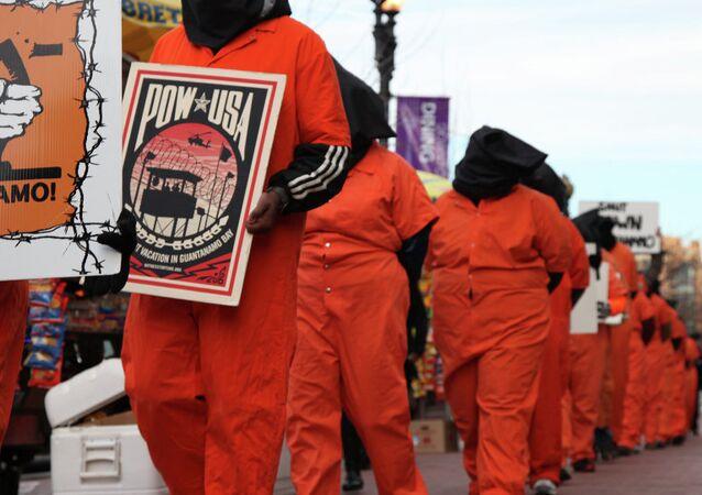 ABD - Guantanamo protestosu