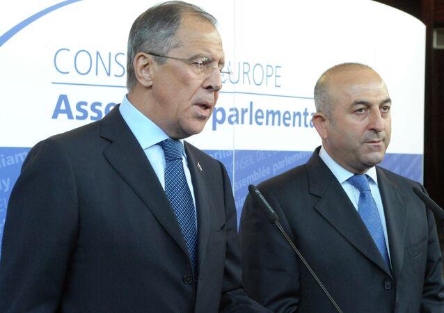 Mevlüt Çavuşoğlu & Sergey Lavrov
