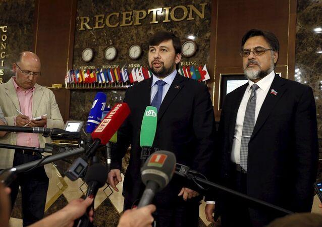 Üçlü Temas Grubu Minsk'te toplandı