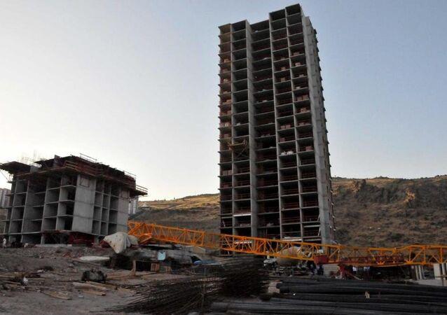İzmir, inşaat kazası