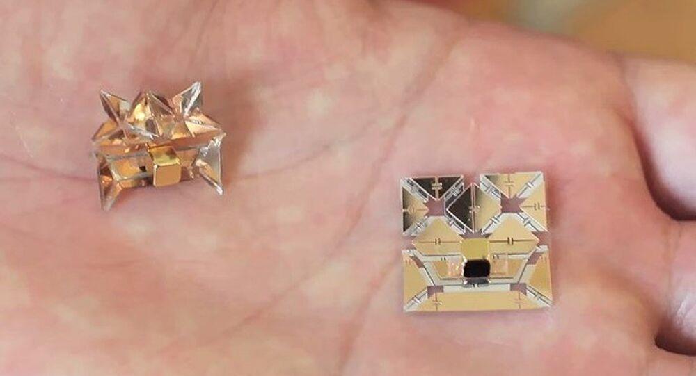 origami robotlar