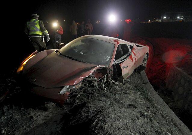 Ferrarisi parçalanan Arturo Vidal tutuklandı