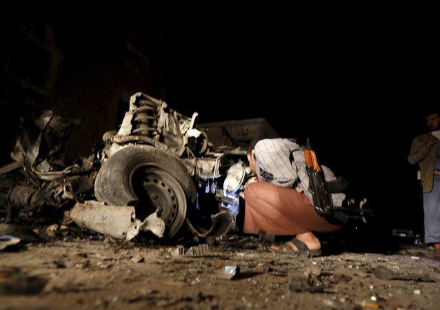 Yemen'in başkenti Sana'da bombalı saldırı