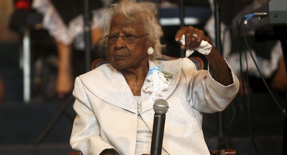 Dünyanın en yaşlı insanı kabul edilen ABD'li Jeralean Talley