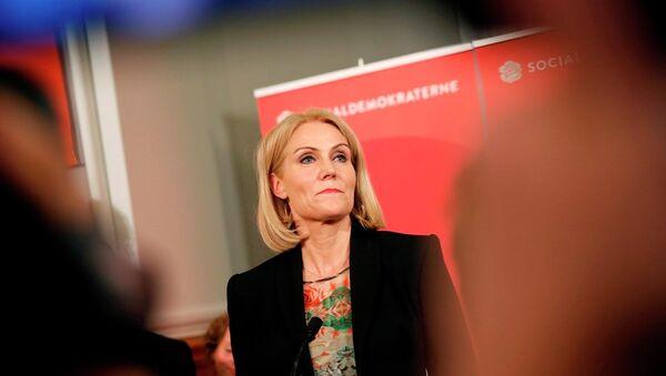 Danimarka Başbakanı Helle Thorning Schmidt - Sputnik Türkiye