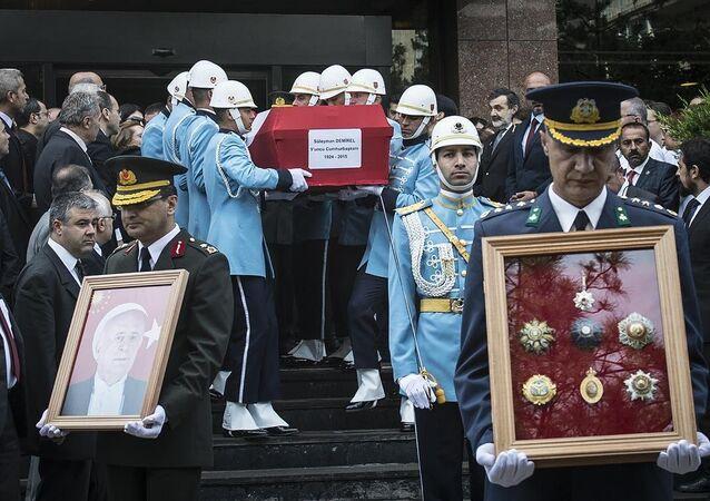 Türkiye'nin 9. Cumhurbaşkanı Demirel'in cenaze töreni