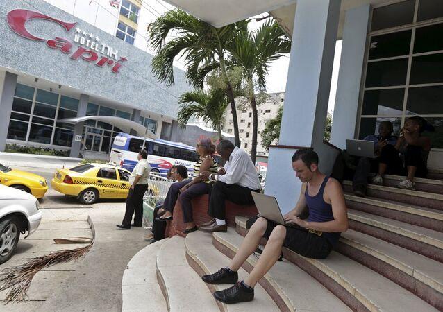 Küba- internet