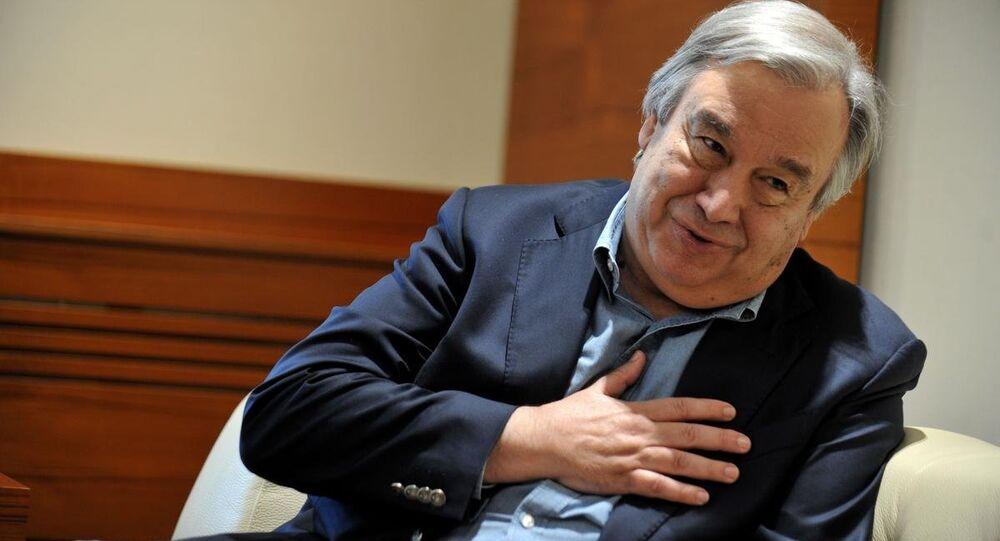 Birleşmiş Miletler Mülteciler Yüksek Komiseri (BMMYK) Antonio Guterres
