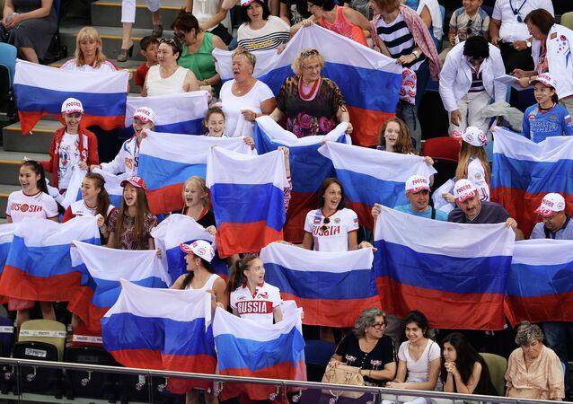 Rusya'ya akrobatik jimnastikte 4 disiplinde 2 altın,  bronz madalya