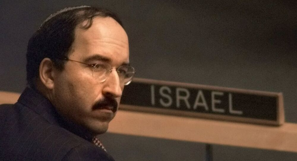 İsrail Dışişleri Bakanlığı Genel Direktörü Dore Gold