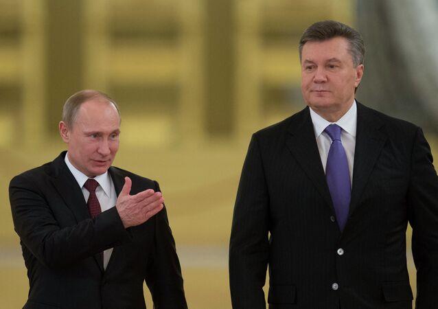 Vladimir Putin ve Viktor Yanukoviç