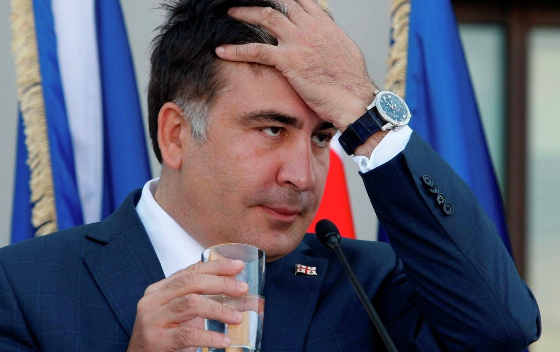 Gürcistan Başbakanı: Saakaşvili'nin yeri cezaevi - 03.11.2015, Sputnik  Türkiye