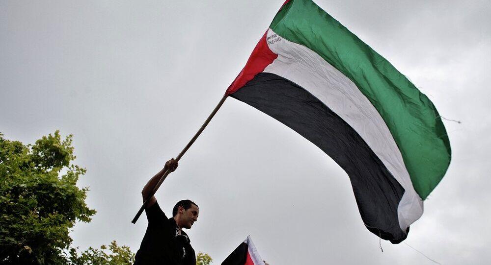 Fransa'da Filistin için destek gösterisi
