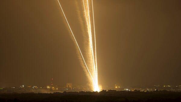 İsrail, Gazze füze saldırı - Sputnik Türkiye