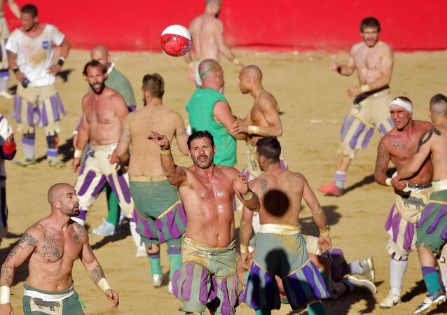 Tarihi Floransa futbolu