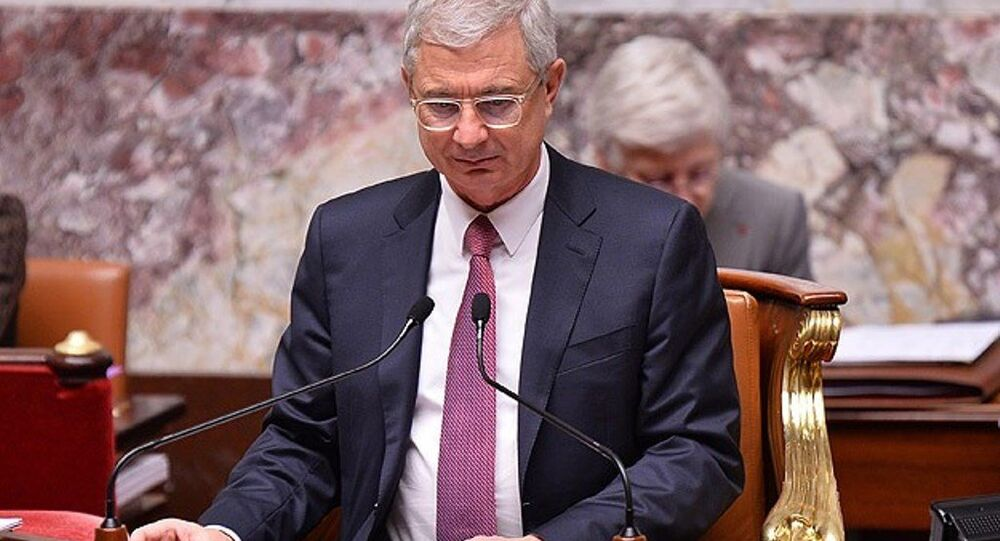 Fransa Ulusal Meclisi Başkanı Claude Bartolone