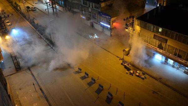 Yüksekova, Kobani, protesto - Sputnik Türkiye