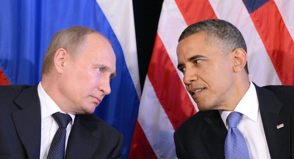 Vladimir Putin - Barack Obama