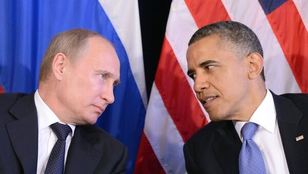 Vladimir Putin - Barack Obama - Sputnik Türkiye