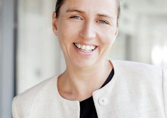 Danimarka Sosyal Demokratlar Partisi Genel Başkanı Mette Frederiksen