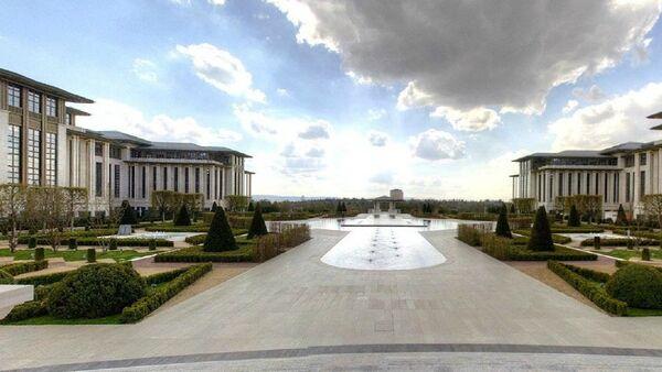 Cumhurbaşkanlığı Sarayı 'sanal tur'a açıldı - Sputnik Türkiye