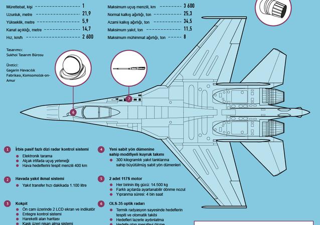 Su-35S avcı uçağı