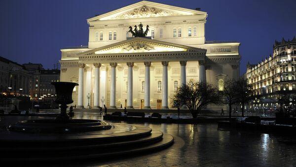 Büyük bir restorasyon sonra Moskova Bolşoy Tiyatrosu - Sputnik Türkiye